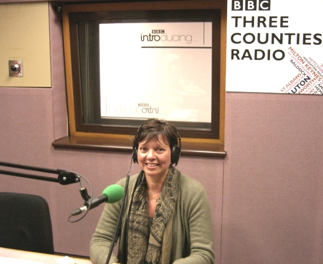 Caroline Ferguson speaking on BBC radio