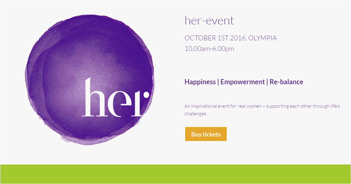 Her-event logo