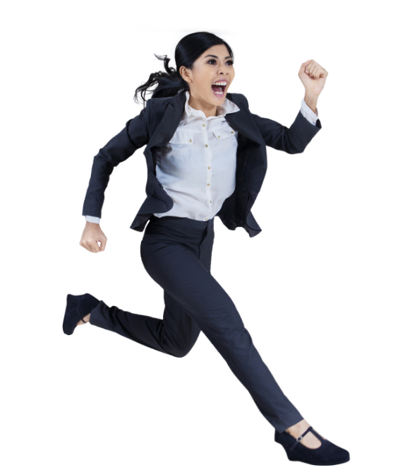 Image of woman being put through her mindset PACES