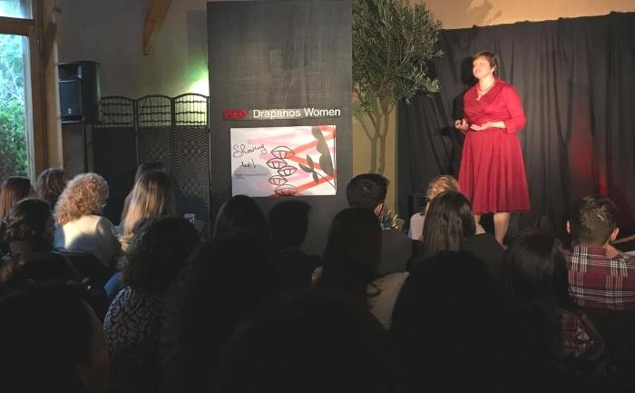 Caroline Ferguson TEDx speaker